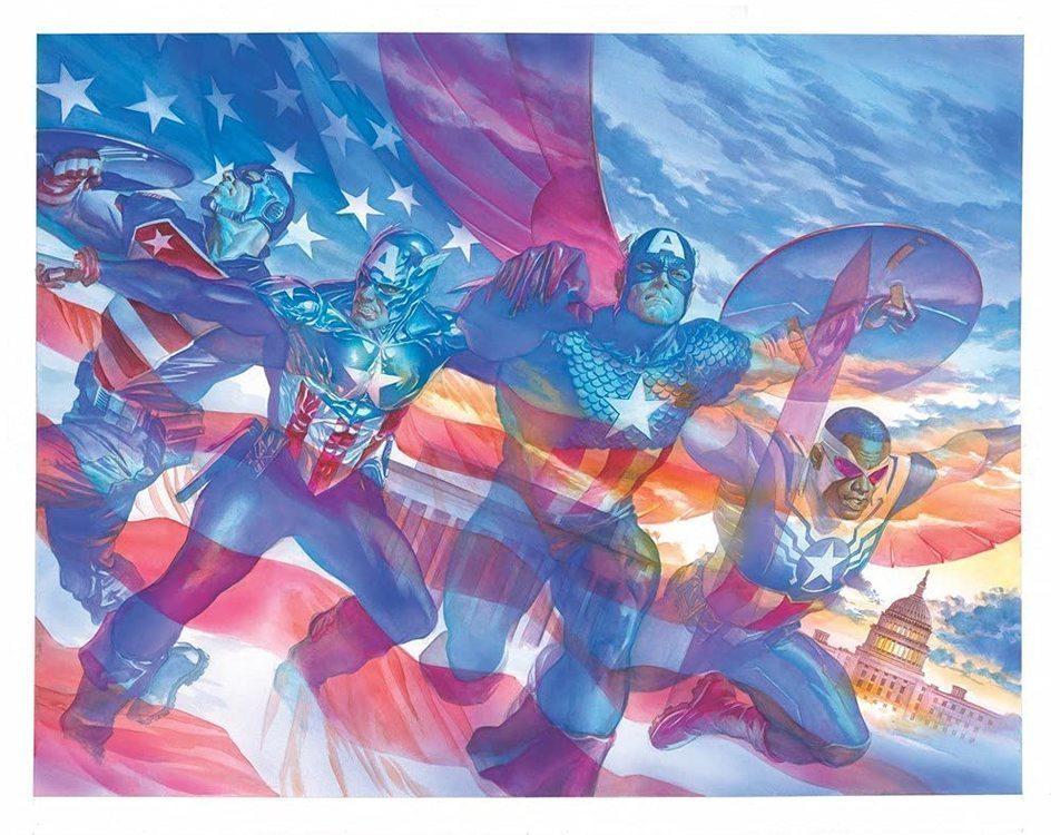 Marvel prh united states of captain america tpb 20210829