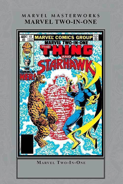 Marvel two in one