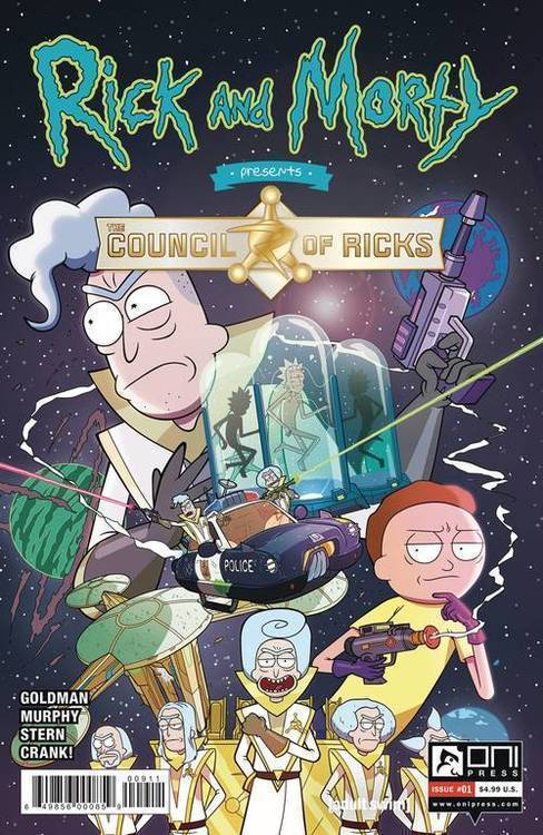 Rick And Morty Presents Council Of Ricks