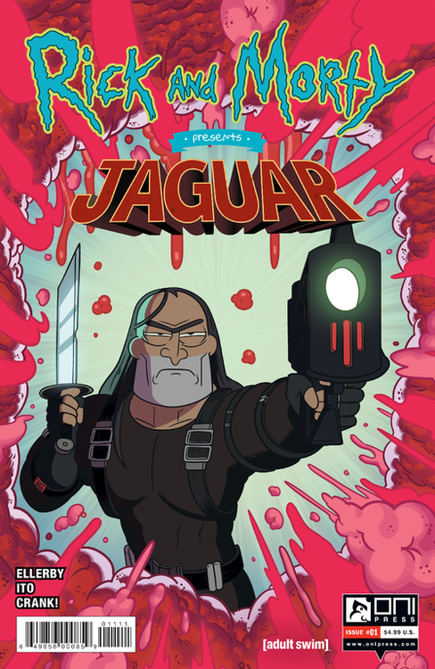 Oni press inc rick and morty presents jaguar 20200826