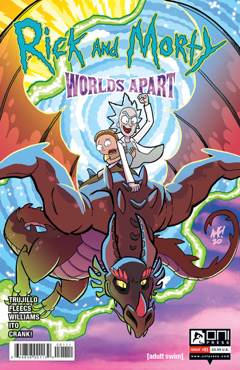 Rick And Morty Worlds Apart