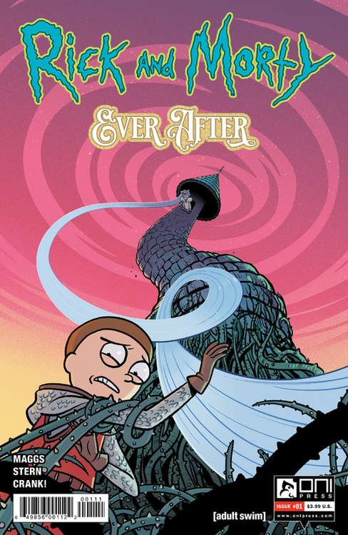 Oni press inc rick morty ever after 20200730