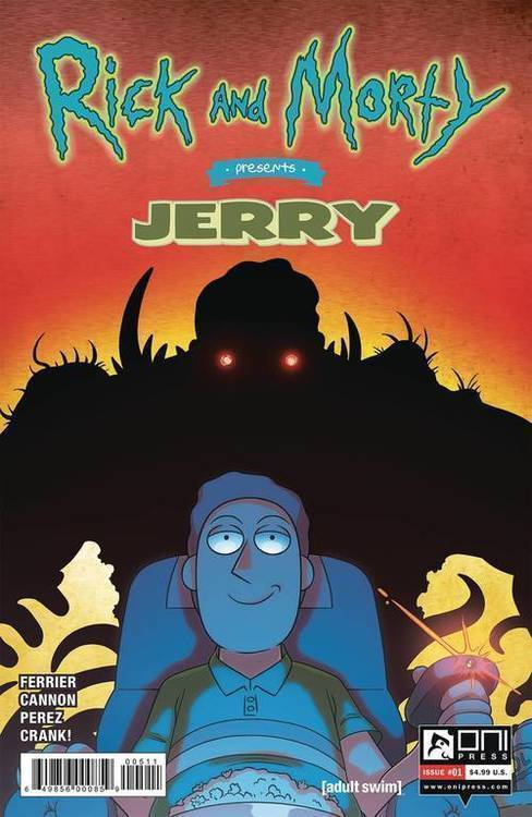 Rick & Morty Presents Jerry