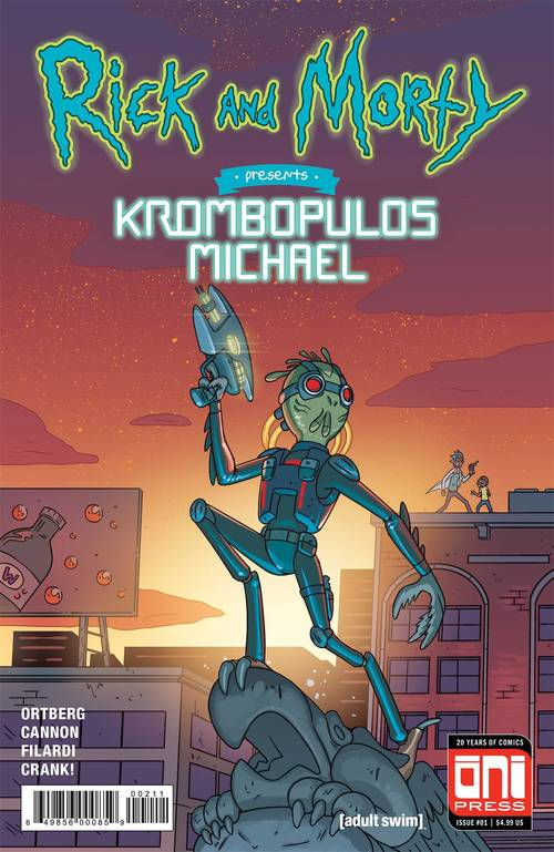 Oni press inc rick morty presents krombopulous michael 20180329