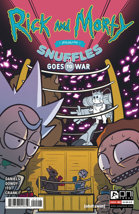 Rick & Morty Presents Snuffles Goes To War