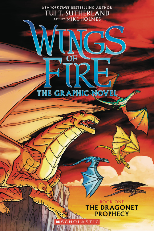 Other publishers wings of fire sc gn vol 01 dragonet prophecy 20201022 jump city comics