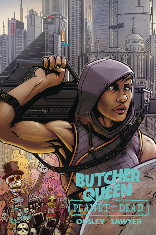 Red 5 comics butcher queen planet of the dead 20200730
