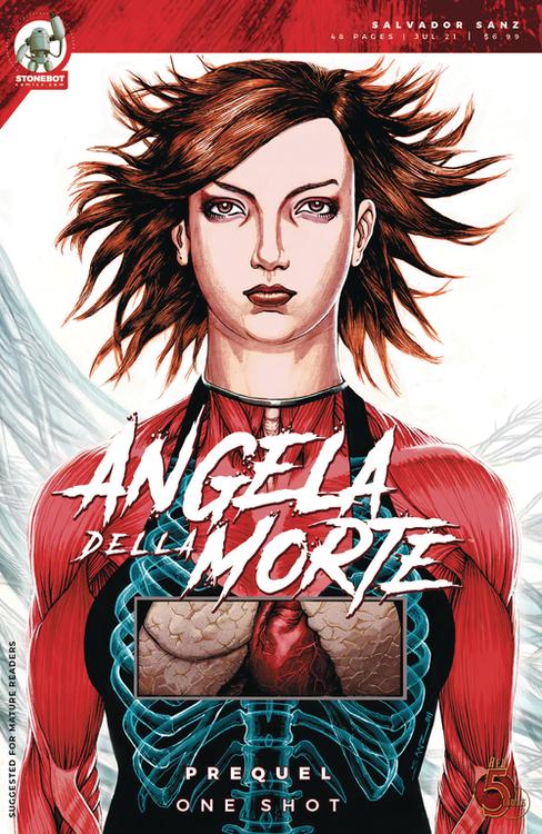 Red 5 comics stonebot angela della morte prequel one shot 20210502