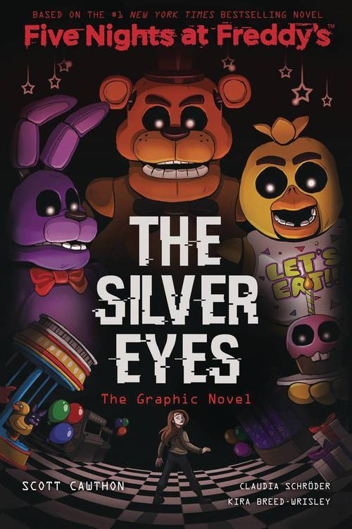 Five Nights at Freddy's Graphic Novel Silver Eyes