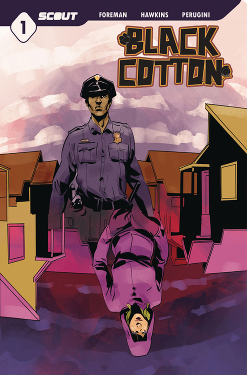 Scout comics black cotton 20201125