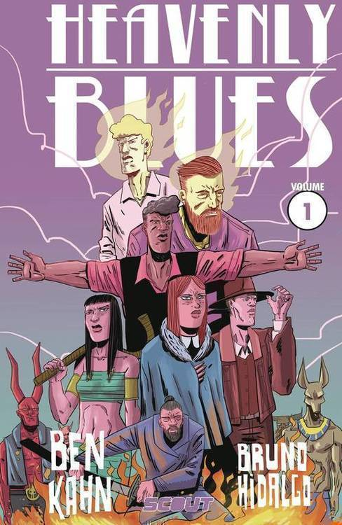 Scout comics heavenly blues tpb volume 01 20180928
