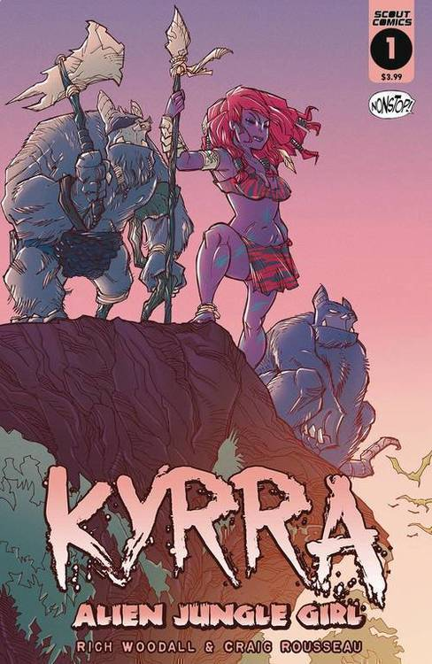 Scout comics kyrra alien jungle girl 20191227