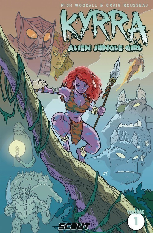Scout comics kyrra alien jungle girl tpb 20200328