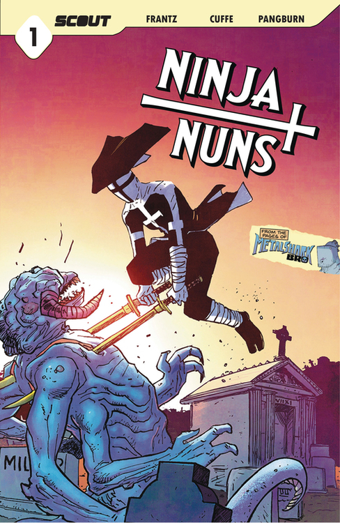 Scout comics ninja nuns bad habits die hard one shot 20201028