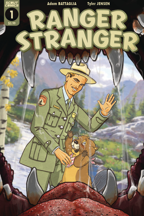 Scout comics ranger stranger 20210829