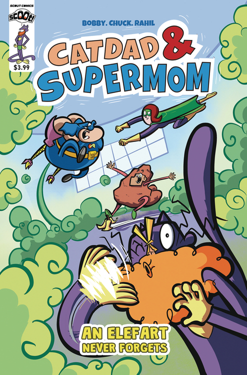 Scout comics scoot catdad supermom an elephant never forgets 20210101