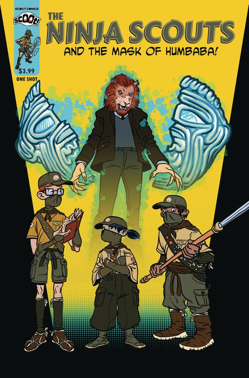 Scout comics scoot ninja scouts 20210728