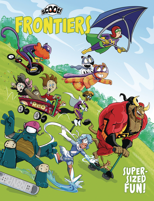 Scout comics scoot scoot frontiers 20210526