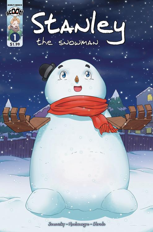 Scout comics scoot stanley the snowman 20210502