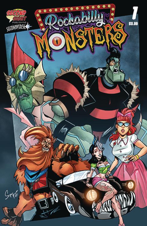 Rockabilly Monsters