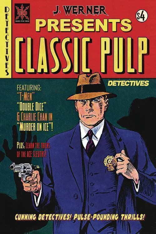 Source point press classic pulp detectives one shot 20191127