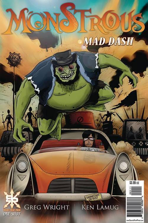 Source point press monstrous mad dash one shot 20191031
