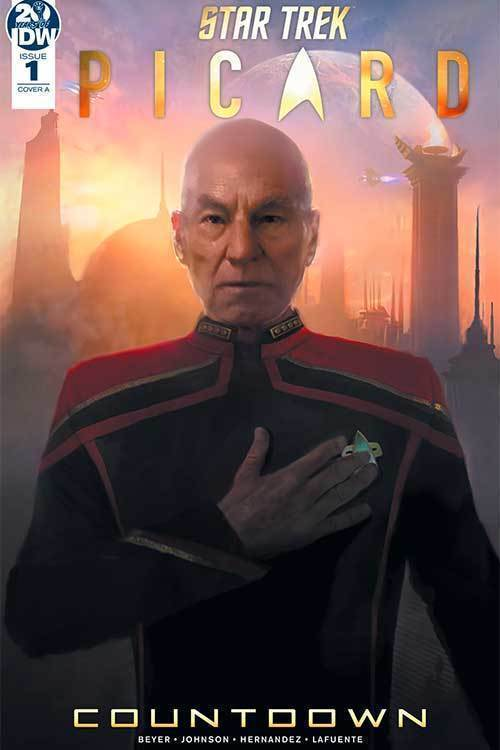 Star Trek Picard Countdown Volume 1