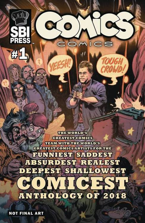 Starburns industries press comics comics quarterly 20180801