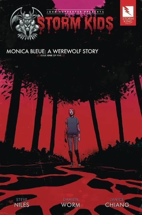 Storm Kids Monica Bleue Werewolf Story