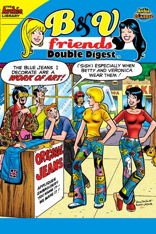 Betty & Veronica Friends Double Digest