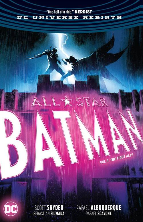All Star Batman Hardcover 03 First Ally Rebirth