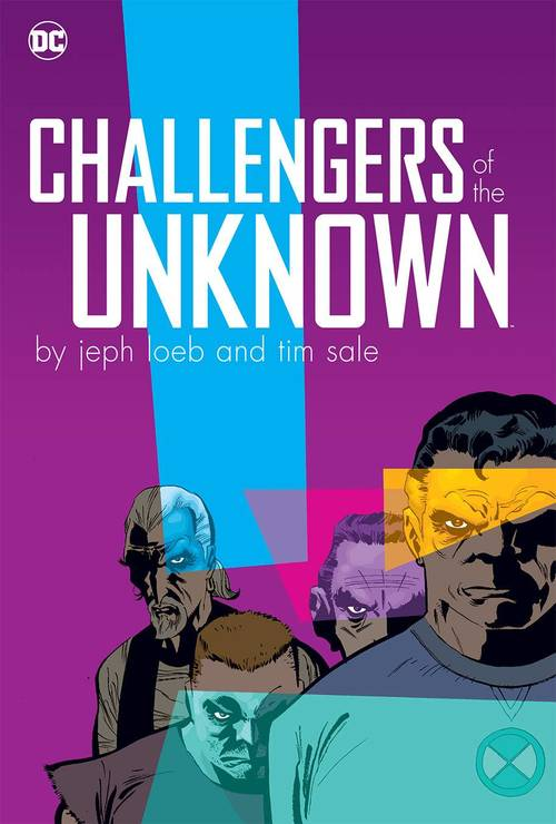 Challengers Of The Unknown By Jeph Loeb & Tim Sale Hardcover