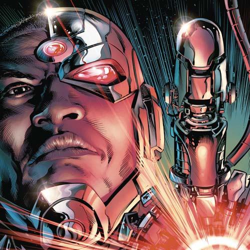 Cyborg TPB 01 The Imitation Of Life (Rebirth)