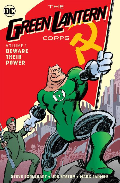 Green Lantern Corps Hardcover 01 Beware Their Power