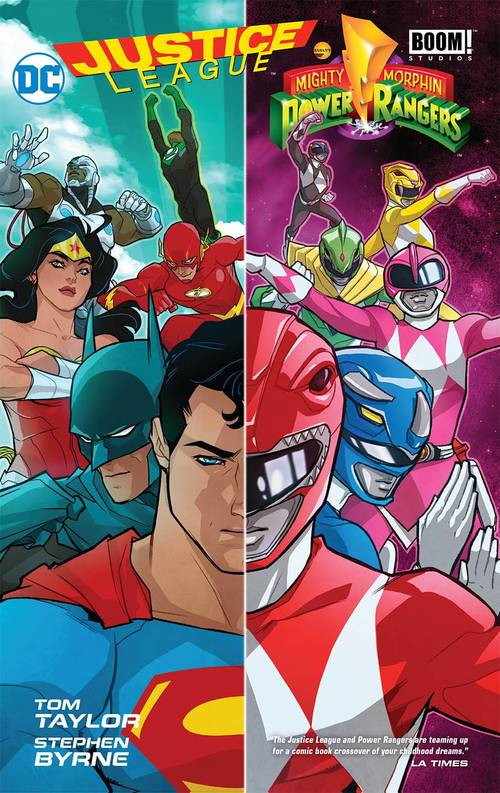 Justice League Power Rangers HC