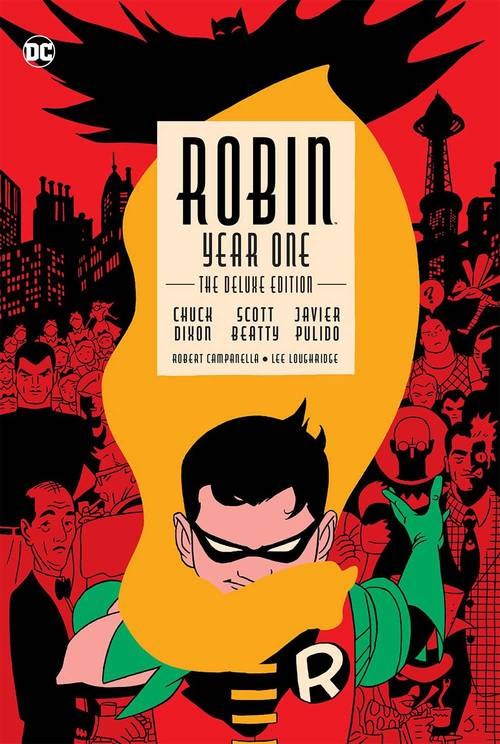Robin Year One Deluxe Edition Hardcover