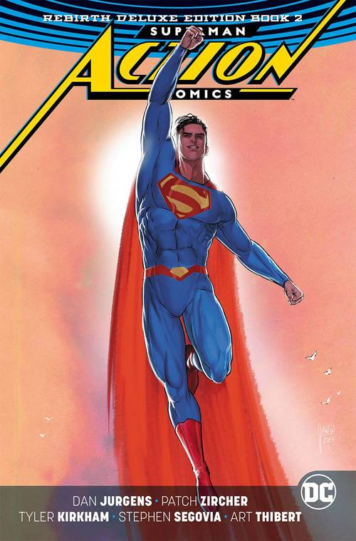 Superman Action Comics Rebirth Deluxe Collection Hardcover 02
