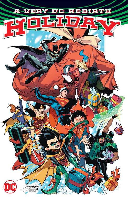 Very DC Universe Rebirth Christmas TPB