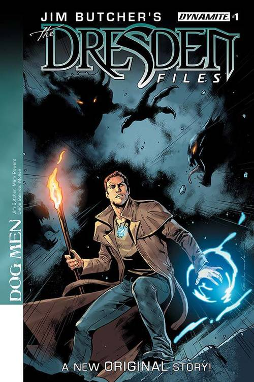 Jim Butcher Dresden Files Dog Men (Mature)