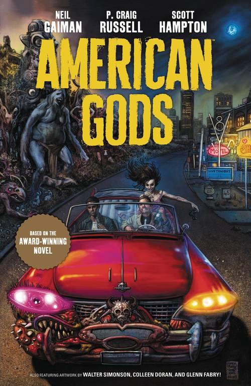 American Gods Hardcover 01 Shadows