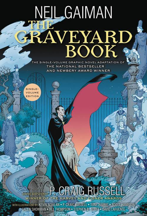 Neil Gaiman Graveyard Book Complete Softcover Graphic Novel