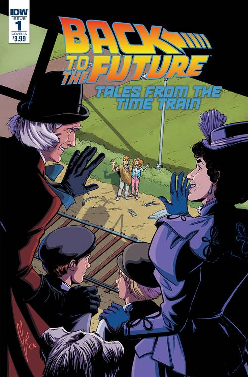 Sub idw backtothefuturetimetrain
