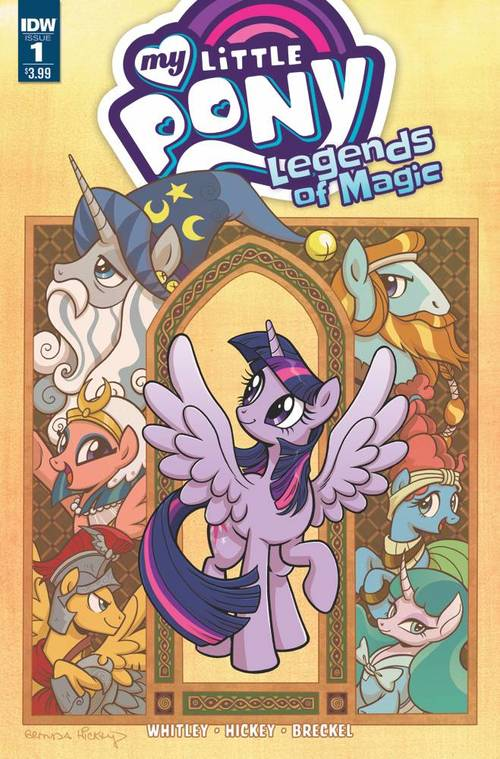 Sub idw mylittleponylegendsofmagic