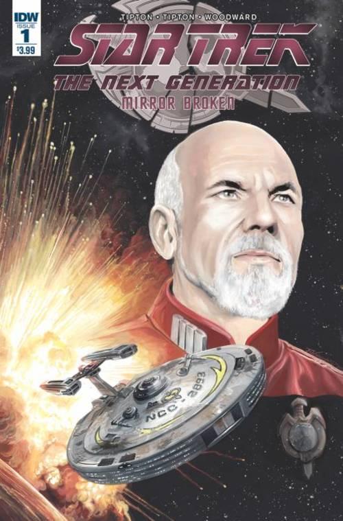Star Trek TNG Mirror Broken