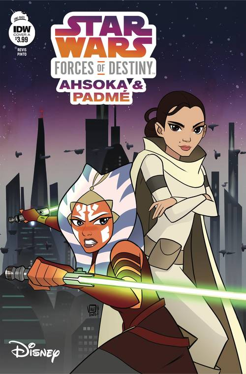 Star Wars Adv Forces Of Destiny Ahsoka & Padme
