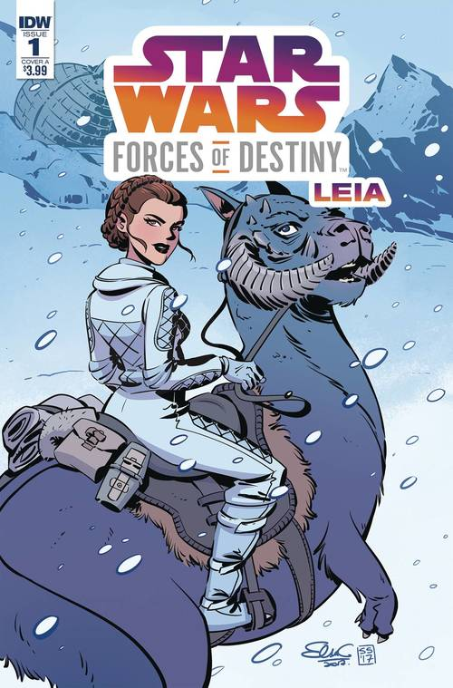 Star Wars Adv Forces Of Destiny Leia