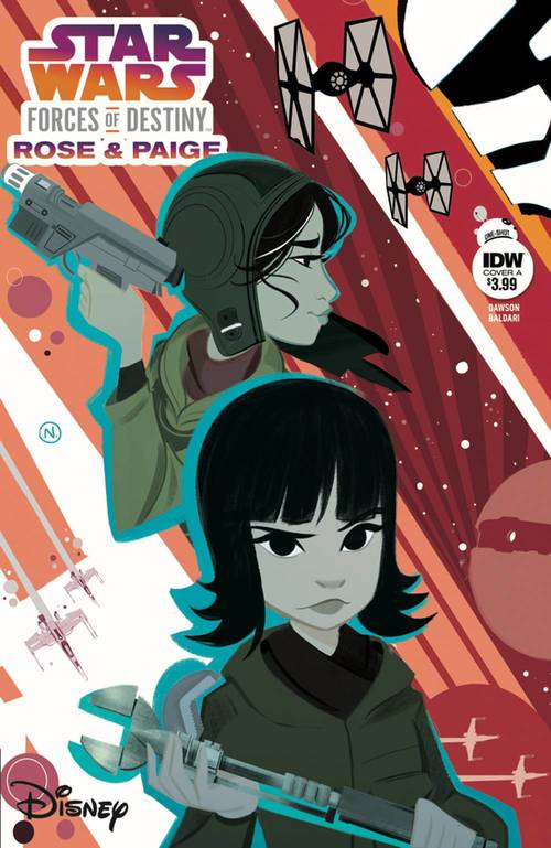 Star Wars Adv Forces Of Destiny Rose & Paige