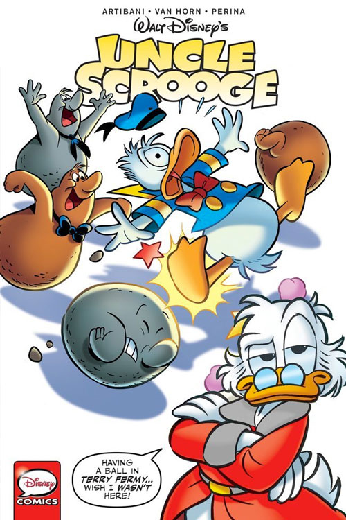 Sub idw unclescrooge