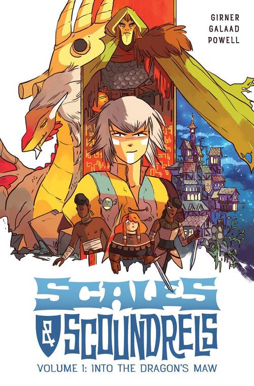 Scales & Scoundrels TPB 01 Into The Dragons Maw