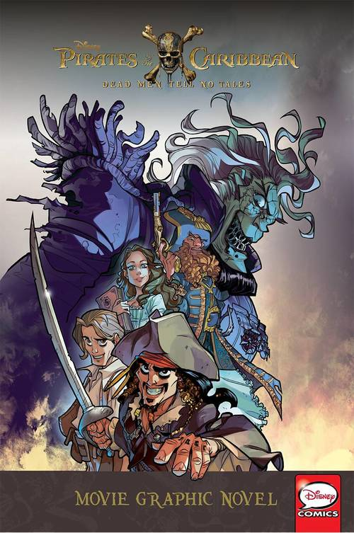 Disney Pirates Of The Caribbean Dead Men Tales Graphic Novel